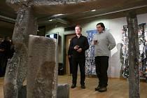 Roman Rejhold a Luďek Rathouský už příští týden veřejnosti představí novou Galerii Luxfer.