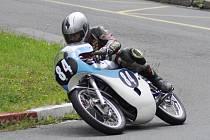 ZÁVODNÍK AMK Police Miloš Thér skončil v Hořicích třetí ve třídě Klasik 175 ccm.
