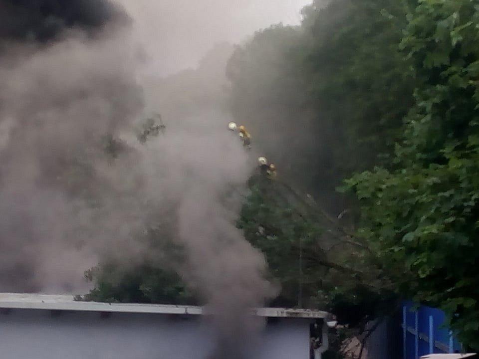 Požár v Broumově