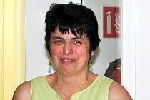Iva Valerová včera v Hospici Anežky České v Červeném Kostelci předávala dary prezidentu Miloši Zemanovi a kardinálu Dominiku Dukovi.