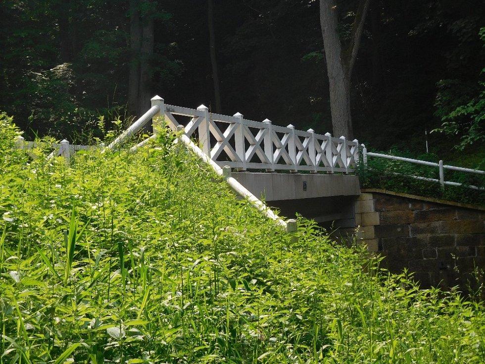 Bílý most.
