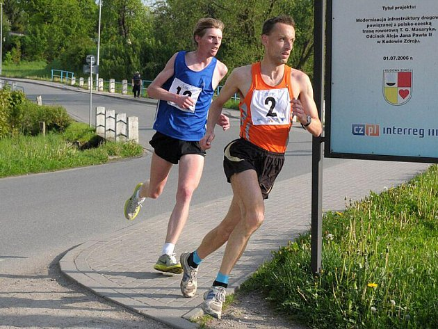Krátce po startu se oddělila dvojička Jiří Wallewfels (2) a Jiří Čivrný (12). Prvně jmenovaný nakonec závod i vyhrál.