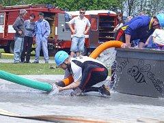 Vstup do nového ročníku Náchodské hasičské Primátor NTC ligy se povedl oběma mužským družstvům Sněžného.