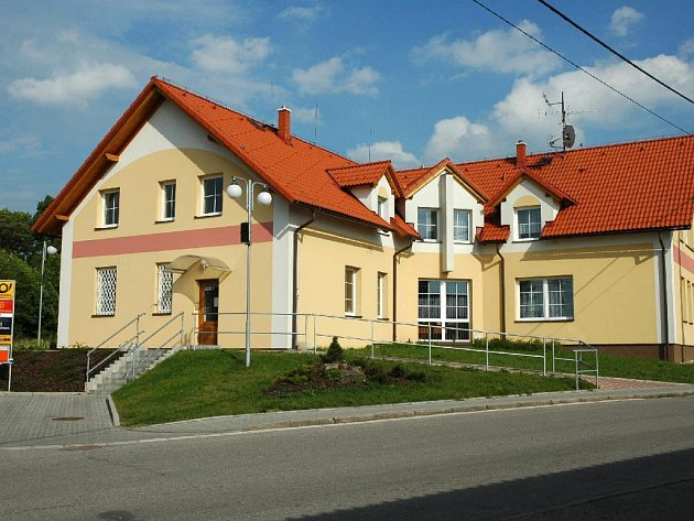 Pošta v Jasenné.