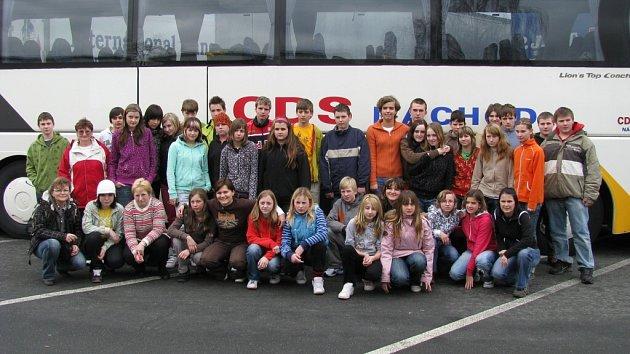 Žáci ze Základní školy v Náchodě – Plhově se vypravili do Lucemburska a Belgie.