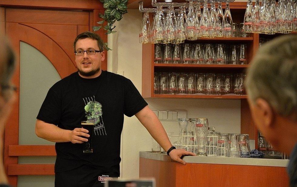 Ředitel Náchodského pivovaru Petr Kaluža.