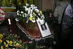 Poslední rozloučení s legendárním hostinským Jaroslavem Vohradníkem řečeným Prďolou.