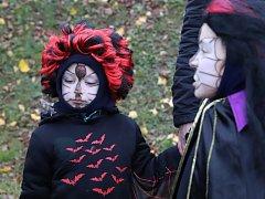 Děti plnily halloweenské úkoly