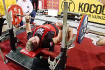 MARTIN MIKEŠ vybojoval v Praze titul mistra světa v kategorii dorostenců do 110 kg.
