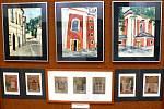 Mimořádnou událostí se stala výstava čtyř úpických výtvarníků, která byla minulý pátek zahájena ve výstavní síni červenokosteleckého městského úřadu.