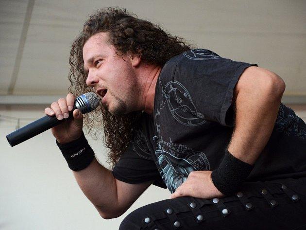 Jan Toužimský, zpěvák skupiny Arakain.