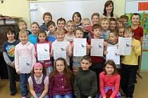 Z pěkných známek se radovali také školáci ZŠ Stárkov.