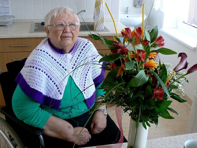 Antonii Opatrné je dnes osmdesát let. Největším štěstím pro ni je, když vidí celou rodinu pohromadě.