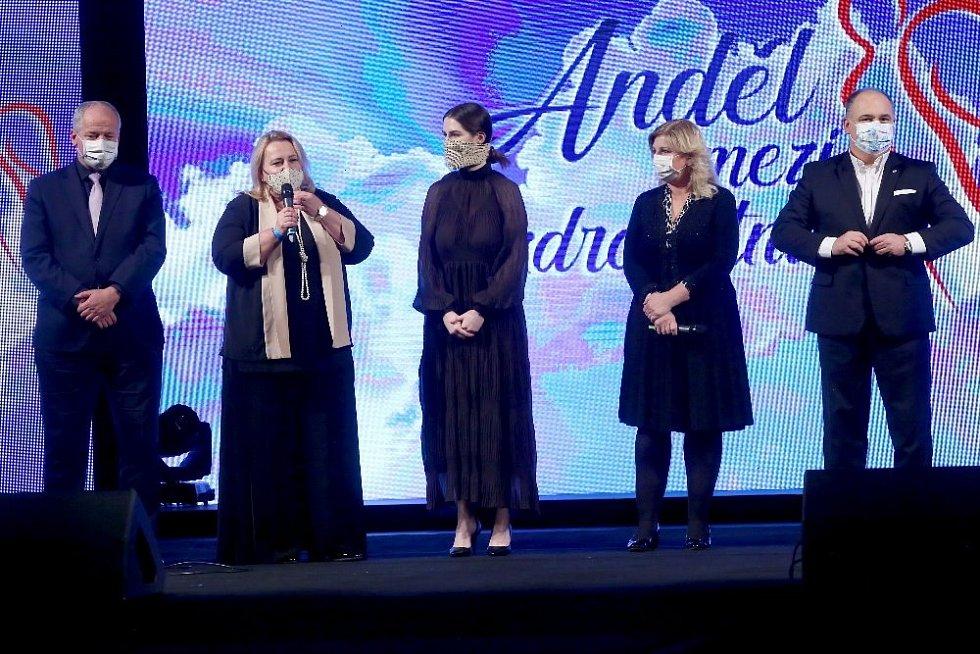 První ročník projektu Anděl mezi zdravotníky 2020.