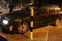 Ujíždění, havárie, bez řidičského oprávnění s pozitivním testem na drogy