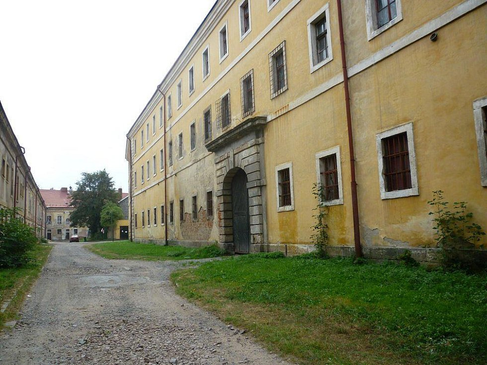 Budoucí věznice v Josefově.