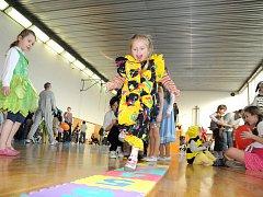 Dětský karneval všechny potěšil