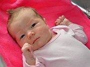 DOMINIKA HRADECKÁ se narodila 12.9. v 0.44 hodin, vážila 3410g a měřila 50cm. S rodiči Hanou a Milanem s a bráškou Danečkem bydlí ve Slavoňově.