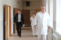 NOVÉ PROSTORY jsou po rekonstrukci v broumovské nemocnici.