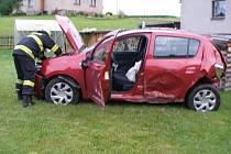 Nehoda v Jetřichově.
