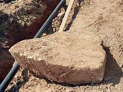 Objevený menhir