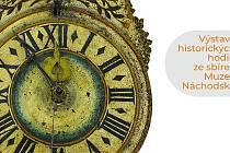 Plakát výstavy V zajetí času.
