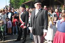 Z oslav 150 let tratě v České Skalici.