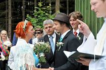 Ticháčkova kaplička zažila svatební premiéru