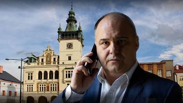 Náchodský starosta Jan Birke.