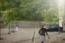 Budoucí podoba zámeckého kopce v Náchodě.