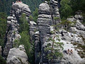 Skály, kam se podíváš, to je Adršpach.
