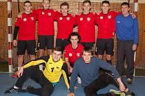Studenti Jiráskova Gymnázia skončili v házenkářském finále středních škol na pátém místě.