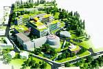 Jednou z priorit kraje je rekonstrukce náchodské nemocnice. Ta teď znovu ožívá.