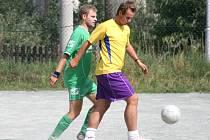 HRÁČI Interu Lipí (v zeleném) zatím proplouvají Horskou ligou suverénně. Druhé Brance nasázeli v neděli osm branek.