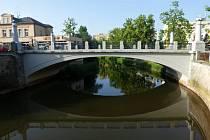 Tyršův most v Jaroměři (2019).