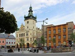 Náchodské Masarykovo náměstí.