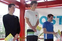 Na nejvyšší stupínek si mohl po vítězství v závodě Českého poháru v Ostravě vystoupit náchodský Pavel Janeček.