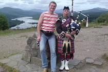 Jiří Klepsa ve Skotsku.
