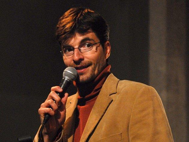 Moderátor Novoměstského hrnce smíchu Michal Jančařík jezdí na festival filmové a televizní komedie už několik let.