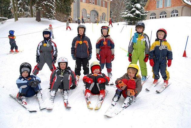 Nejlepší lyžaři.