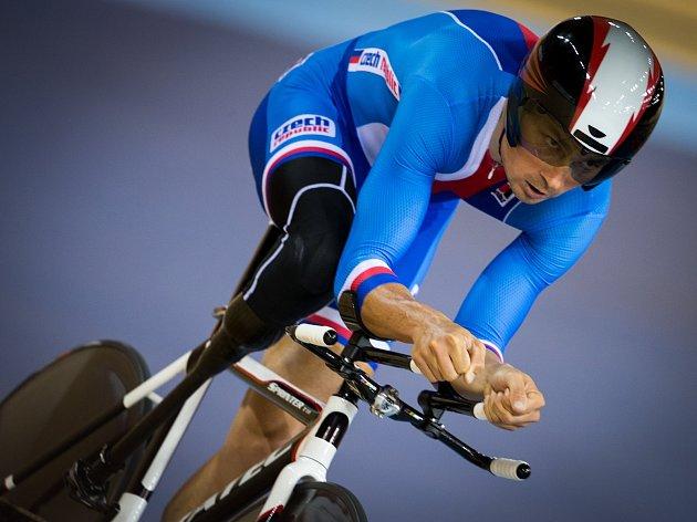 Cyklista Jiří Ježek má ve své bohaté medailové sbírce šest zlatých olympijských medailí i šest titulů mistra světa.