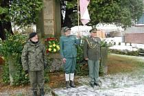 Sté výročí si připomněli i v Machovské Lhotě.