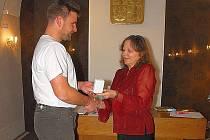 Ocenění dobrovolných dárců krve.