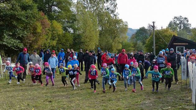 NA START letošního Borského krosu se v různých věkových kategoriích postavilo 223 vyznavačů běhu od těch nejmenších až po veterány.