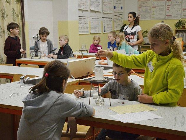 Noc s Andersenem v Základní škole T. G. Masaryka v Náchodě.