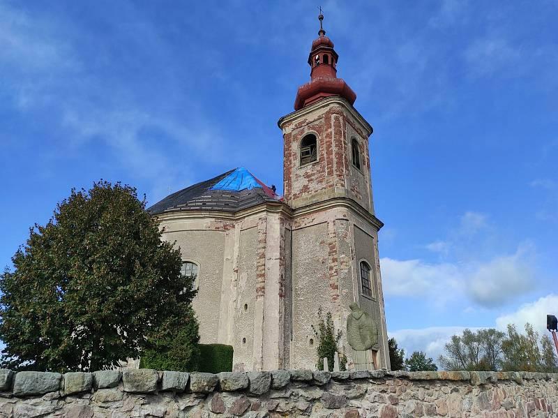 Kostel svaté Anny - Vižnov