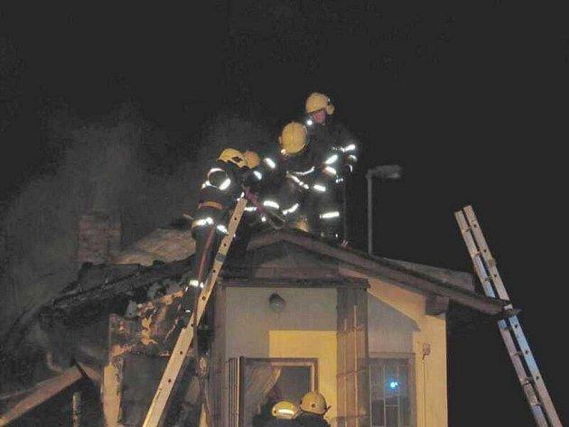 Požár v Rychnovku.