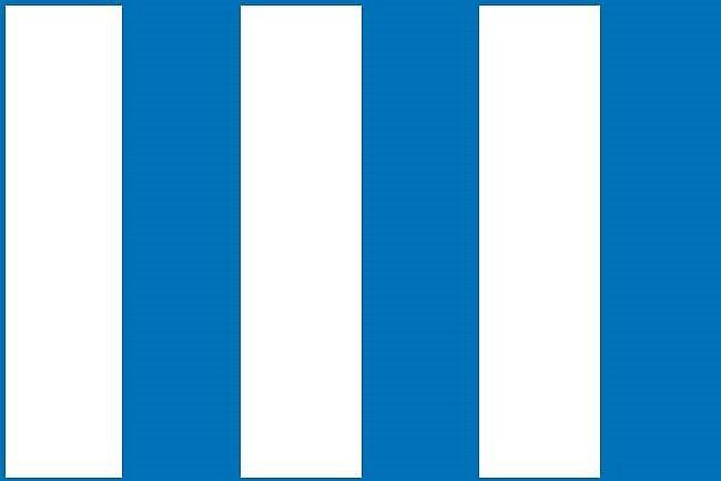 Návrh vlajky pro město Hronov (č. 4).