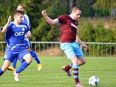 Vítězem ankety Fortuna Gól snů měsíce března se stal útočník FK Náchod Martin Malý (vpravo).