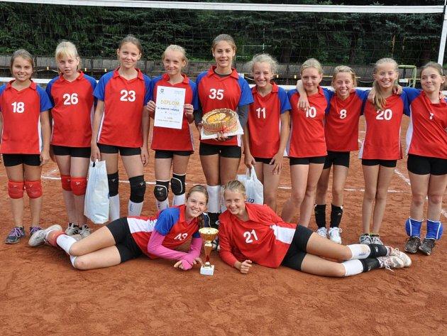 KATEGORII mladších žákyň ovládly na turnaji O pohár starosty města Náchoda volejbalistky domácí Rubeny.